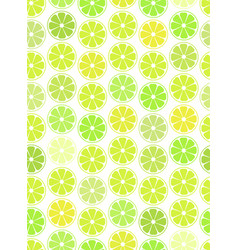 simple seamless pattern citrus vector image