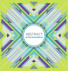 Abstract background with retro styled design vector