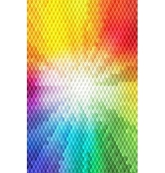 Abstract Isometric Cube Shape Background for vector image vector image