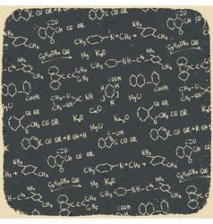 retro chemistry vector image vector image