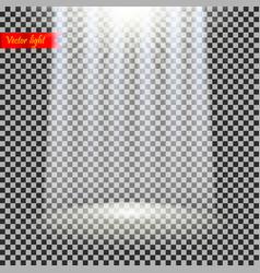 realistic light vector image