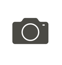 camera icon photo symbol trendy flat imag vector image