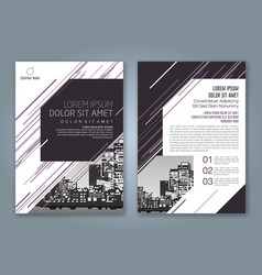 Cover annual report 931 vector