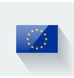 flag european union vector image