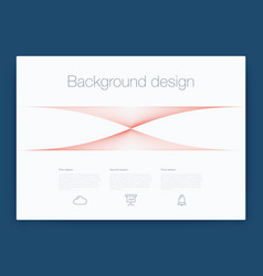 Futuristic user interface ui technology vector