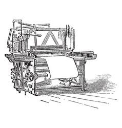 Loom vintage vector