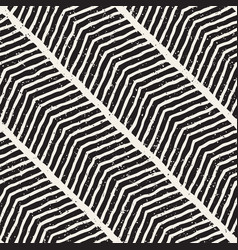 Simple ink geometric pattern monochrome black and vector