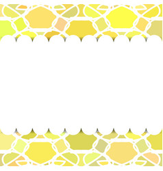 Template for postcard invitation birthday vector