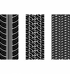 tire tread vector image