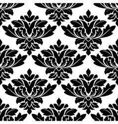 Damask style arabesque pattern vector image