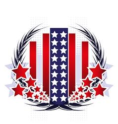 American vector image vector image