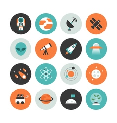 403space flat iconVS vector image