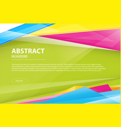 abstract background geometric modern business vector image