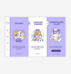 Clear space house and tidying up onboarding vector