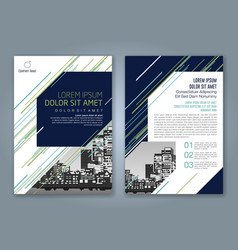 Cover annual report 936 vector