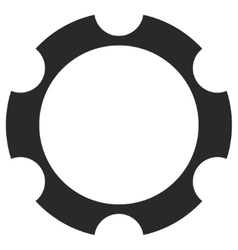 Gear Wheel Eps Icon vector