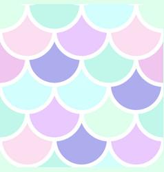 Mermeid scales seamless pattern vector