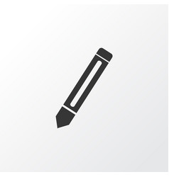 pencil icon symbol premium quality isolated vector image