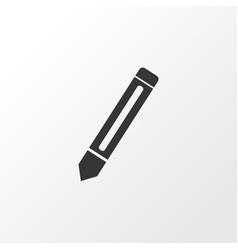 pencil icon symbol premium quality isolated vector image