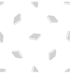 sleep mattress pattern seamless vector image
