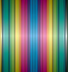 rainbow band background vector image