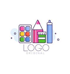 logo original creative concept template vector image