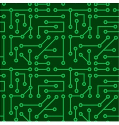 Electronic seamless texture vector image vector image
