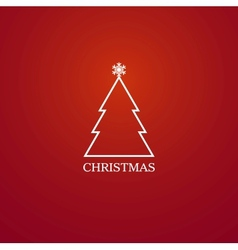Happy Christmas vector image vector image