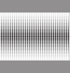 Abstract black and white halftone texture dots vector