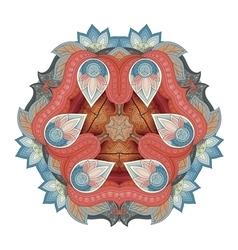 Beautiful Deco Colored Triangle vector image