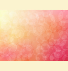 bokeh abstract background on pink graphic art vector image