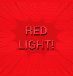 Bright comic explosive concept vector