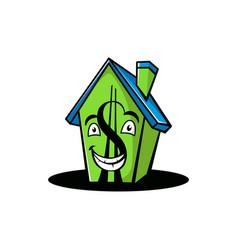 cartoone home vector image