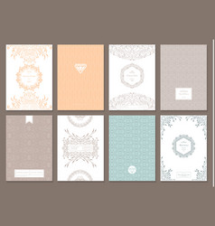 creative card template vector image
