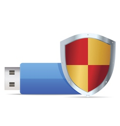 flash guard icon vector image