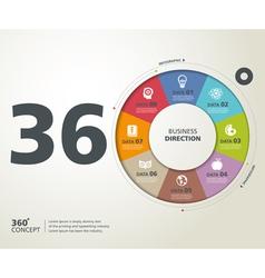 Infographic Typography 03 vector
