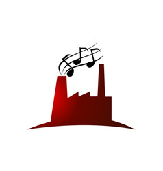 music production industry vector image