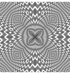Op art backdrop vector