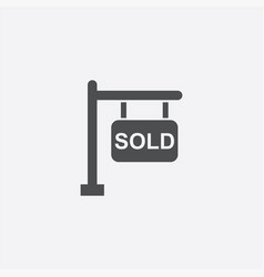 sale plate icon vector image
