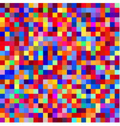 seamless colorful pixel pattern vector image