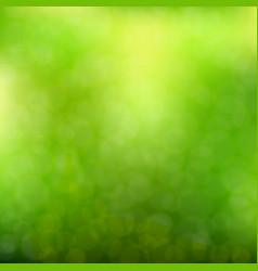 blurred geen background vector image