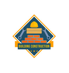 Building and house construction tools icon vector