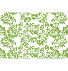 greenery floral seamless pattern background vector image vector image