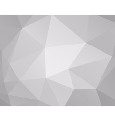 Abstract grey triangle background low poly design vector image