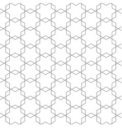 artistic geometric style background vector image