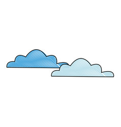 Cloud weather climate sky meteorology vector
