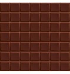 Dark Chocolate Background vector image