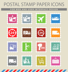 Delivery simply icons vector