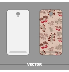 Phone Red Berries vector image