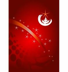 christmas background vector image vector image